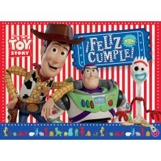 Toy Story Co Afiche Feliz Cumple X U
