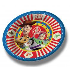Toy Story Co Platos Carton X 10