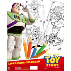 Toy Story Co Librito P/ Pintar X 10