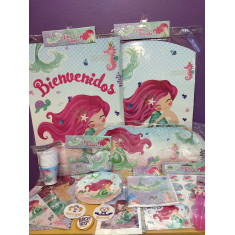 Sirenita Gm Stickers 12 X 10 Planchas
