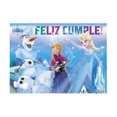 Frozen Co Afiche Feliz Cumple X U