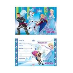 Frozen Co Invitacion X 10