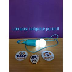 Lampara Colgante Portatil X U-led Hange Lampe