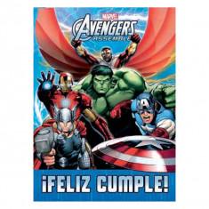 Avengers Afiche F/cumple X U-marvel-