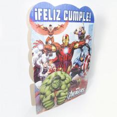 Avengers Piñata De Carton Xu -marvel-