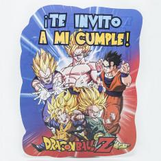 Dragon Invitacion X 10  -ball Z-