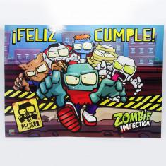 Infection Afiche F/cumple X U. - Zombie