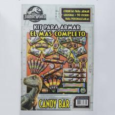 Jurassic Candy Bar Armable World