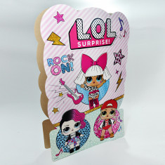 Lol Piñata De Carton- Surprise