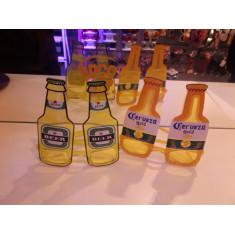 Anteojo Esp.cerveza Botella Amarillo - 1418