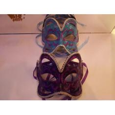 Veneciano Mascara Mariposa Gibriado C/pasamaneria Xu - Rigida