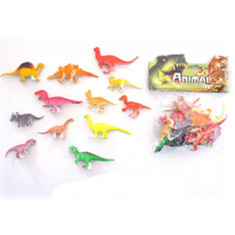 Animales Dinos Med. X 6 -1706- Animal World -